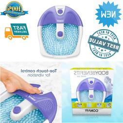 Large Feet Foot Spa Bath Vibration Massager Heat Soaker Mass