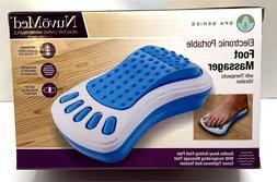Massaging Neck Pillow, Adjustable Vibrating Massager, Airpla