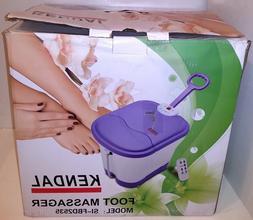 Kendal SI-FBD2535 Deep Foot Massager Spa Bath