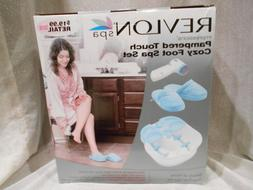 NEW Pampered Touch Foot Spa Set-foot spa,pedicure piece,mass