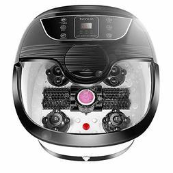 NEW ACEVIVI Portable Foot Spa Bath Massager Set Heat LCD Dis