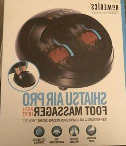 New HoMedics Shiatsu Air Pro Foot Massager with Heat Model n