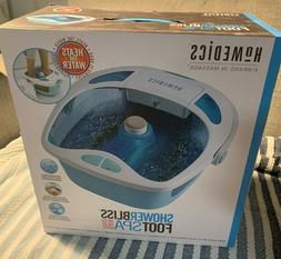 NEW HOMEDICS SHOWER BLISS FOOT SPA RETAIL 70  +