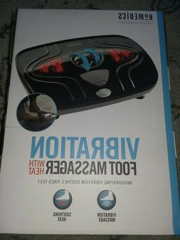 NEW Homedics Vibration Foot Massager with Heat ~FREE SHIPPIN