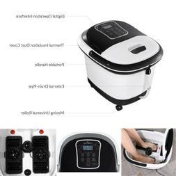 Portable Foot Spa Bath Massager Soaker Feet Salon Relax Tub