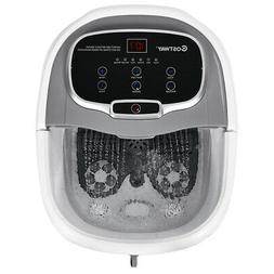 Portable Foot Spa Bath Motorized Massager Home Feet Salon Tu