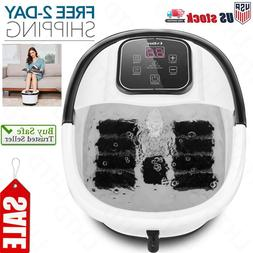 Portable Foot Spa Bath Motorized Massager Home Electric Feet