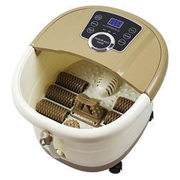 Portable Digital Foot Spa Massager, Rolling Massage Heat Wav
