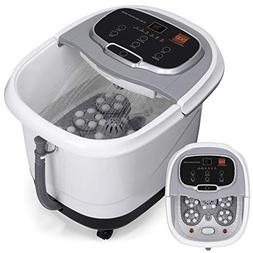 Best Choice Products Portable Relaxation Heated Foot Bath Sp