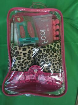 Bath Accessories Primal Foot Spa Set Slippers, Pink Sugar/Ch