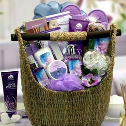 Relax and Enjoy with the Soothing Lavender Spa Gift Basket