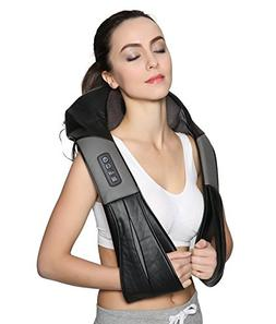 Nekteck Shiatsu Deep Kneading Massage Pillow with Heat, CarO