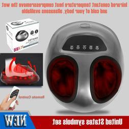 Shiatsu Foot Massager Machine With Heat Electric Deep Kneadi