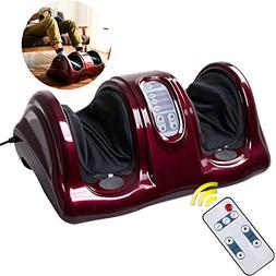 Shiatsu Kneading and Rolling Foot Massager W/ Remote Control