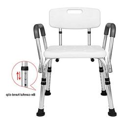 SSLine Shower Chair with Back Bathtub Lift Shower Bench with