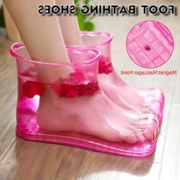 SPA Foot Massage Bath Shoes Massager Acupoint Pedicure Bucke