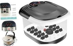 yosager Foot Bath Spa with Heat, Bubbles Jets, Foot Massager
