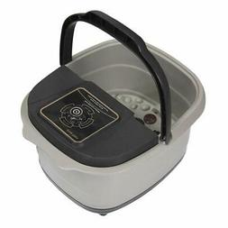 Yosager Portable Foot Spa Bath Massager with Heat, Manual Ro